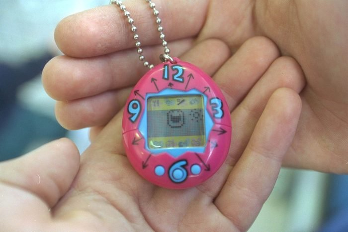 Tamagotchi An Electronic Toy Pet Which Needs Feeding And Playing 1997.