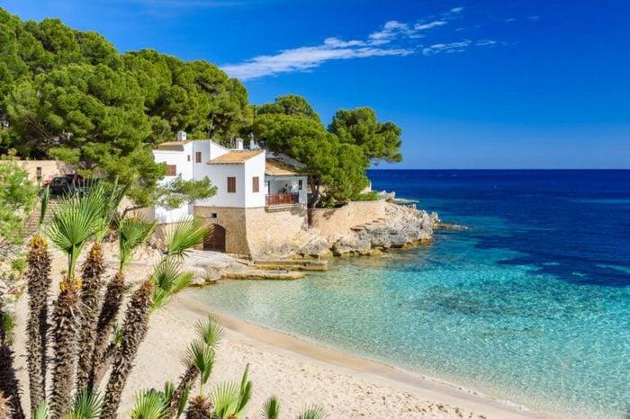 Cala Gat at Rajada, Mallorca - beautiful beach and coast