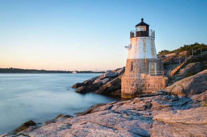 Sunset at Castle Hill Lighthouse on Newport, Rhode Island 1