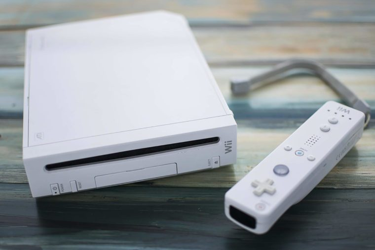 CLEETHORPES, UK – MARCH 1, 2017: The original Nintendo Wii console