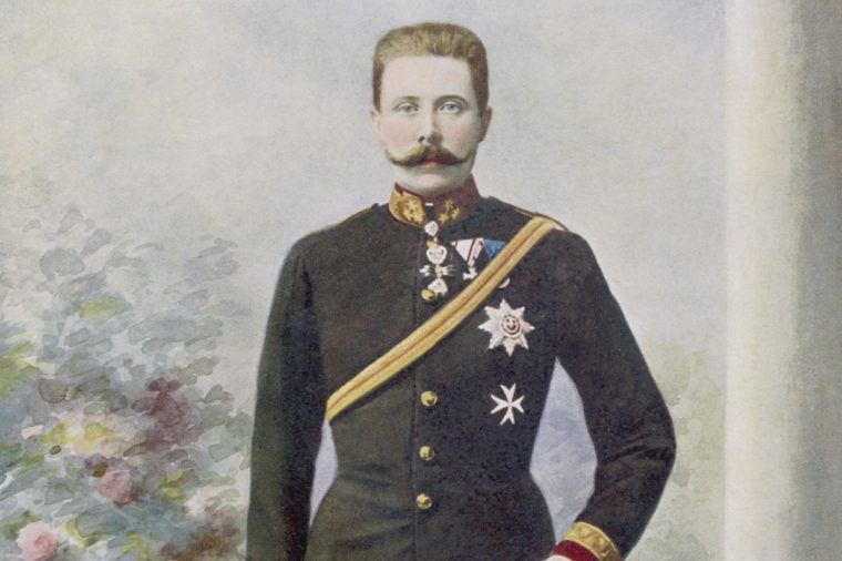 Archduke Franz Ferdinand Heir to the Austrian Empire Nephew of Franz Joseph Assassinated in 1914 1863 - 1914