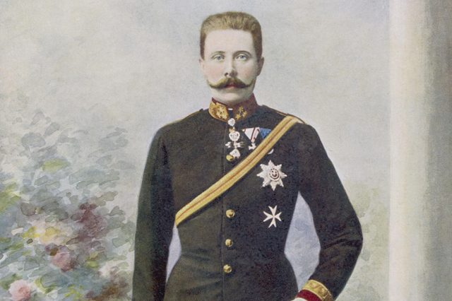 Archduke Franz Ferdinand Heir to the Austrian Empire Nephew of Franz Joseph Assassinated in 1914 1863 - 1914