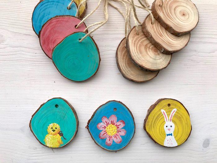 wood slice craft idea
