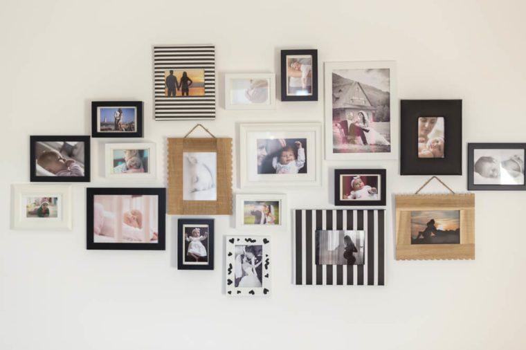 photos wall best april fools pranks for parents