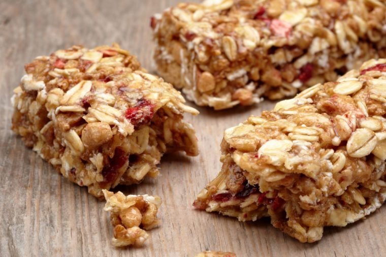 granola bar_foods to never buy