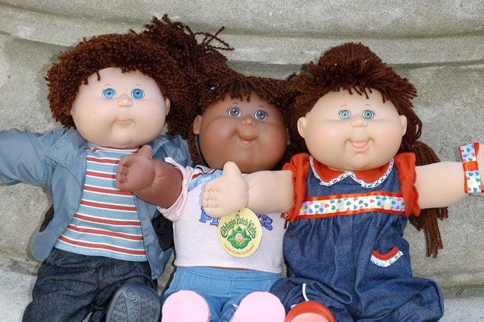 Indusrty's Toybox Media Preview, Toy Retailers Association announces Top Ten toys for Christmas 2004 including:- Bratz, Cabbage Patch Kids, Leapster, Power Rangers, Robosapiens, Tamagotchi, Trampolines, V-Smile