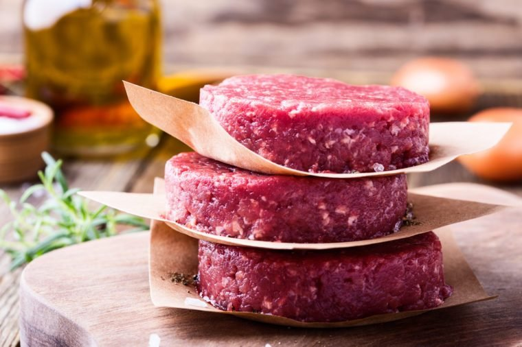 meat patty_foods to never buy