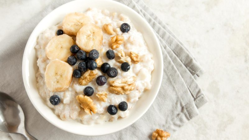 oatmeal blueberry walnut