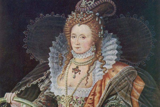 Queen Elizabeth I (1533 - 1603) Queen of Great Britain