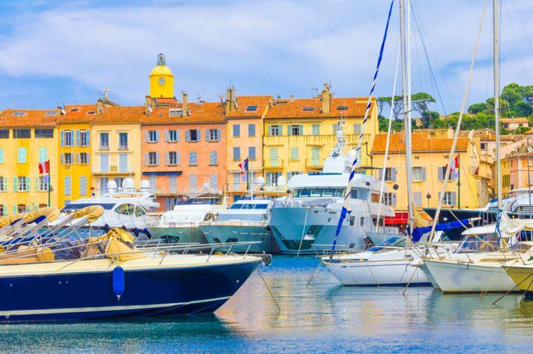 Saint-Tropez in France