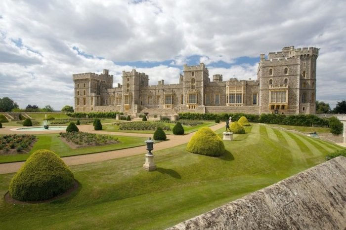 Windsor castle near London, United Kingdom
