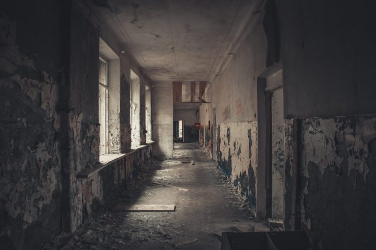 creepy hall