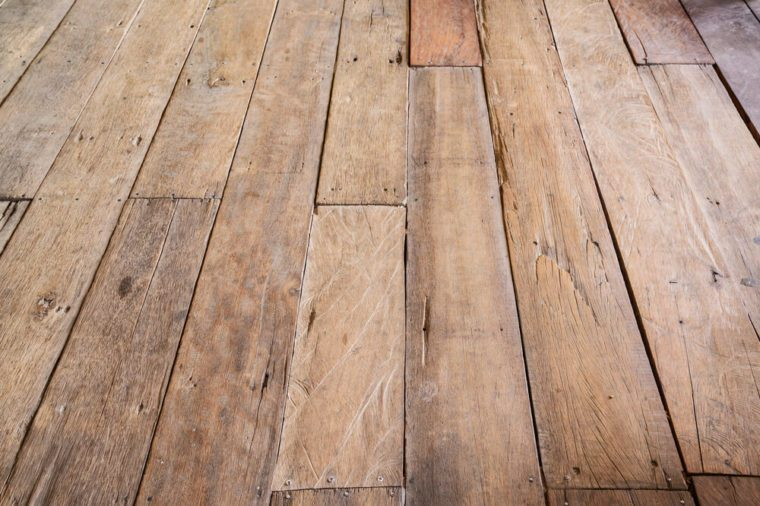 Vintage wood floor, Wood background.