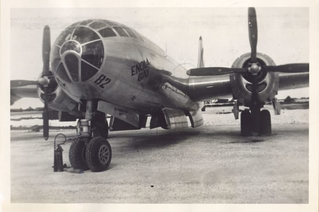 Enola Gay, US Air Force B-29 bomber