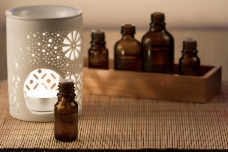 Aromatherapy lamp and candle,essential oils for aromatherapy