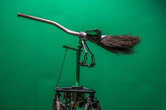 Los Angeles, California, USA, February 26, 2017: Warner Bros Harry Potter broom