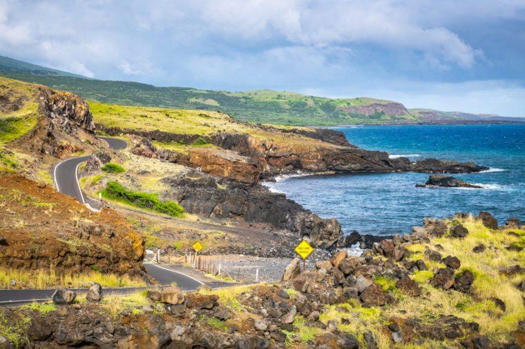 Road to Hana backside coast, Maui Hawaii