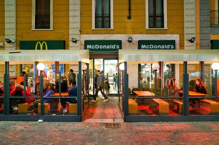 mcdonalds milan