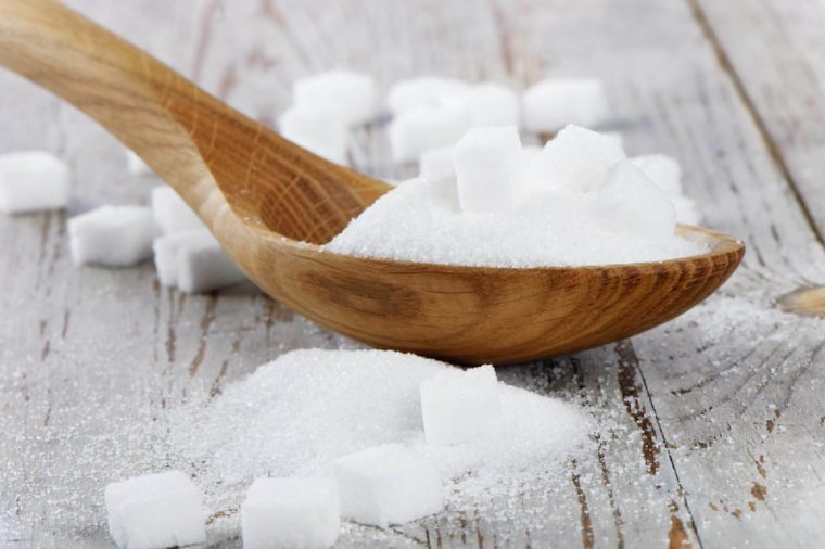 Healthy food, heaps of sugar