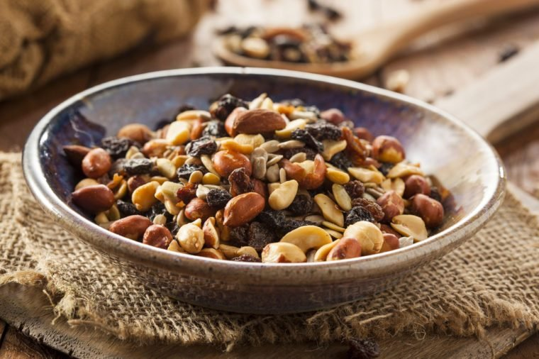 trail mix_foods to never buy