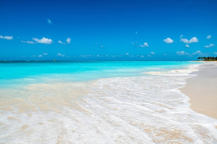 Sand beach on Turks And Caicos