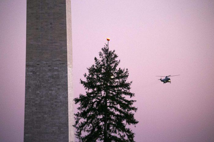 washington monument helicopter