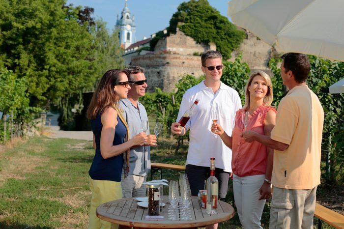 Durnstein Wine Tasting