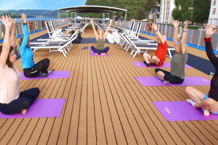 Yoga on Sundeck