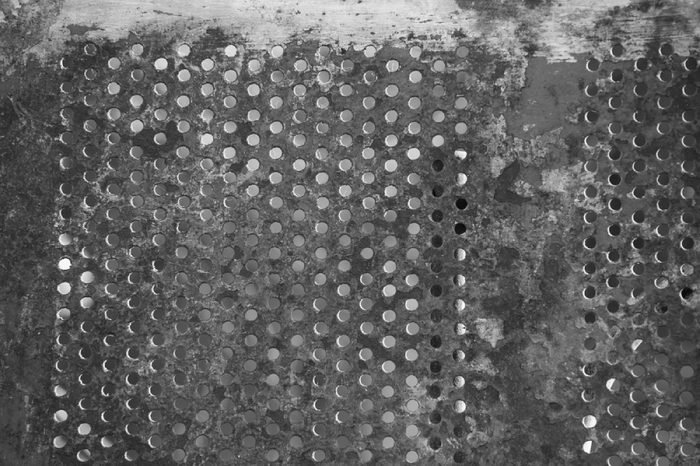 Steel Dining Table Texture