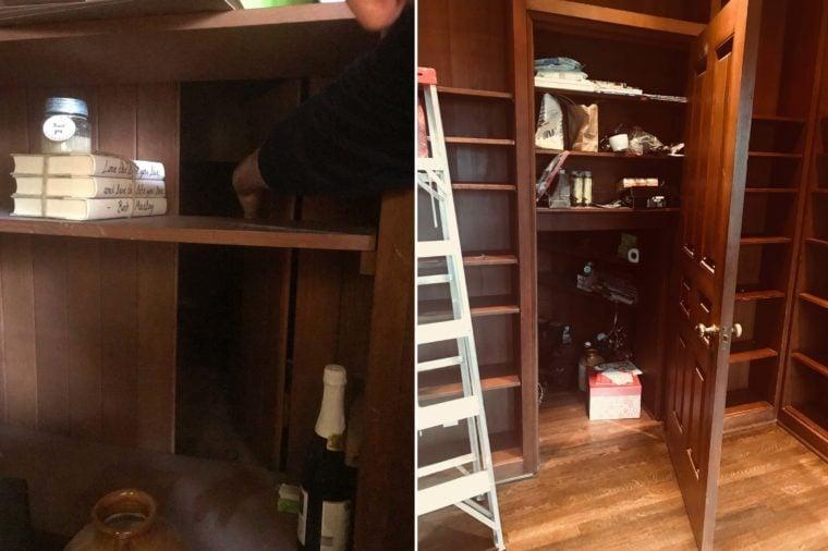 hidden prohibition closet