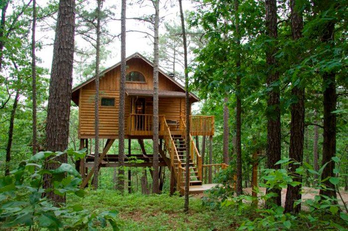 Treehouse Cottages, Eureka Springs, Arkansas