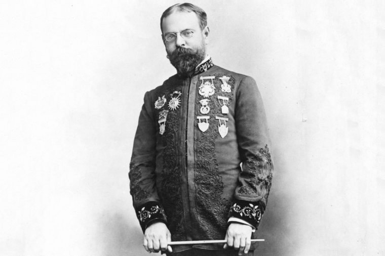 John Philip Sousa, Leader Of The U.s. Marine Band From 1880-1892