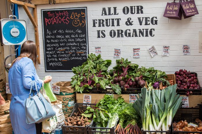 Organic fruit and veg at Unicorn Grocery Workers Co-operative
