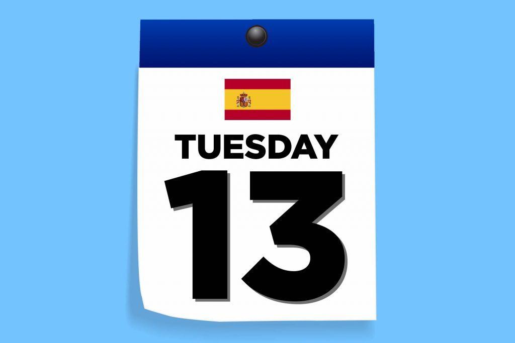 Spain Tuesday 13