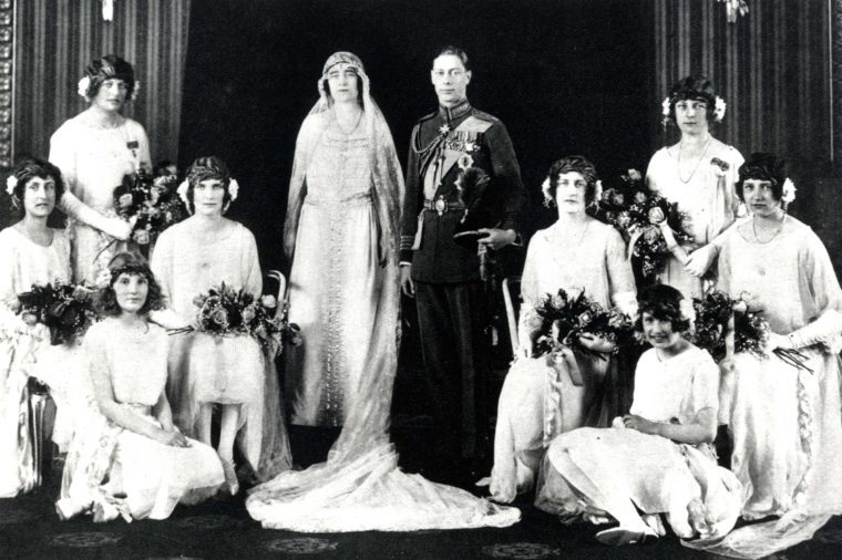 Lady Elizabeth Bowes Lyon and Prince Albert, Duke of York