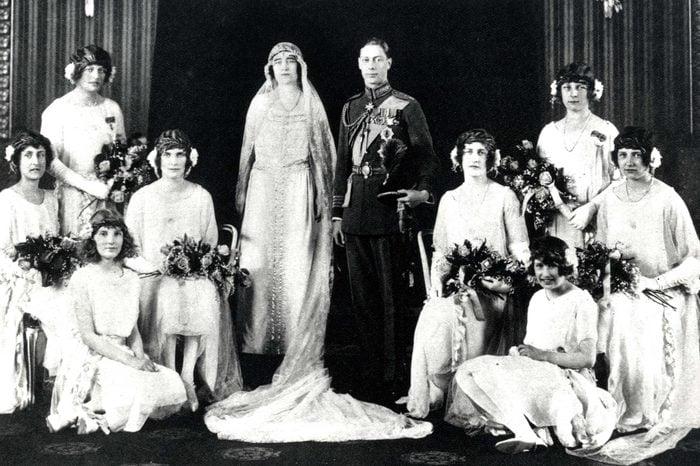 Lady Elizabeth Bowes Lyon and Prince Albert, Duke of York
