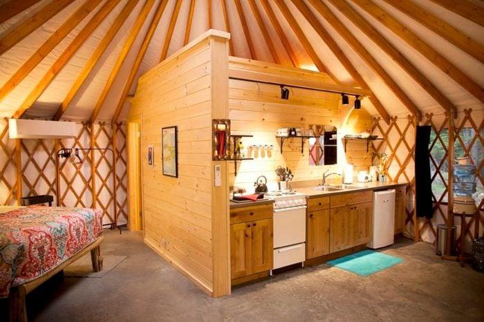 Acadia Yurts, Mount Desert Island, Maine