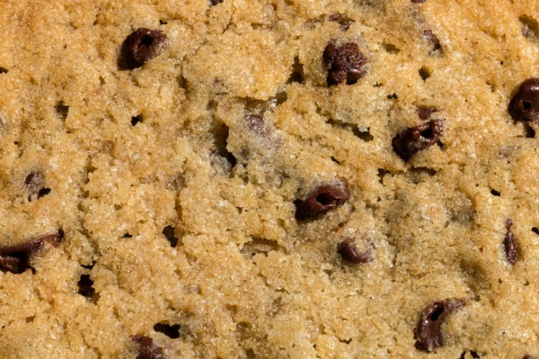 Macro Chocolate Chip Cookie