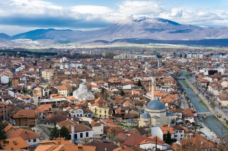 The city of Prizren, Kosovo