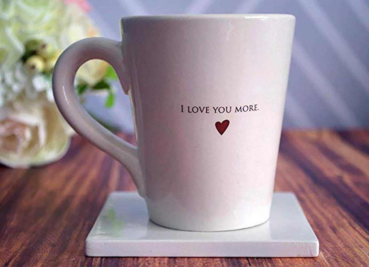 SHIPS FAST - I Love You More - Coffee Mug