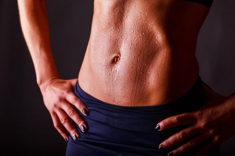 figure fitness girl