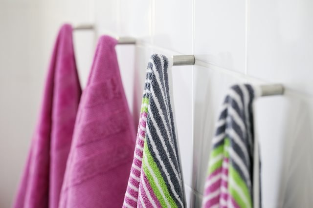 Pick towels you're actually excited to use home decorating on a budget