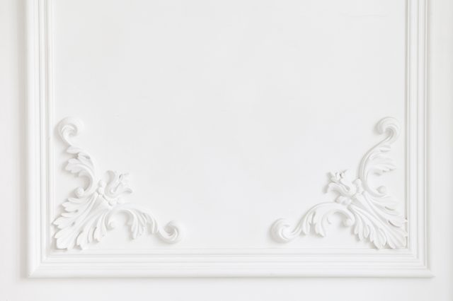 add molding home decorating ideas
