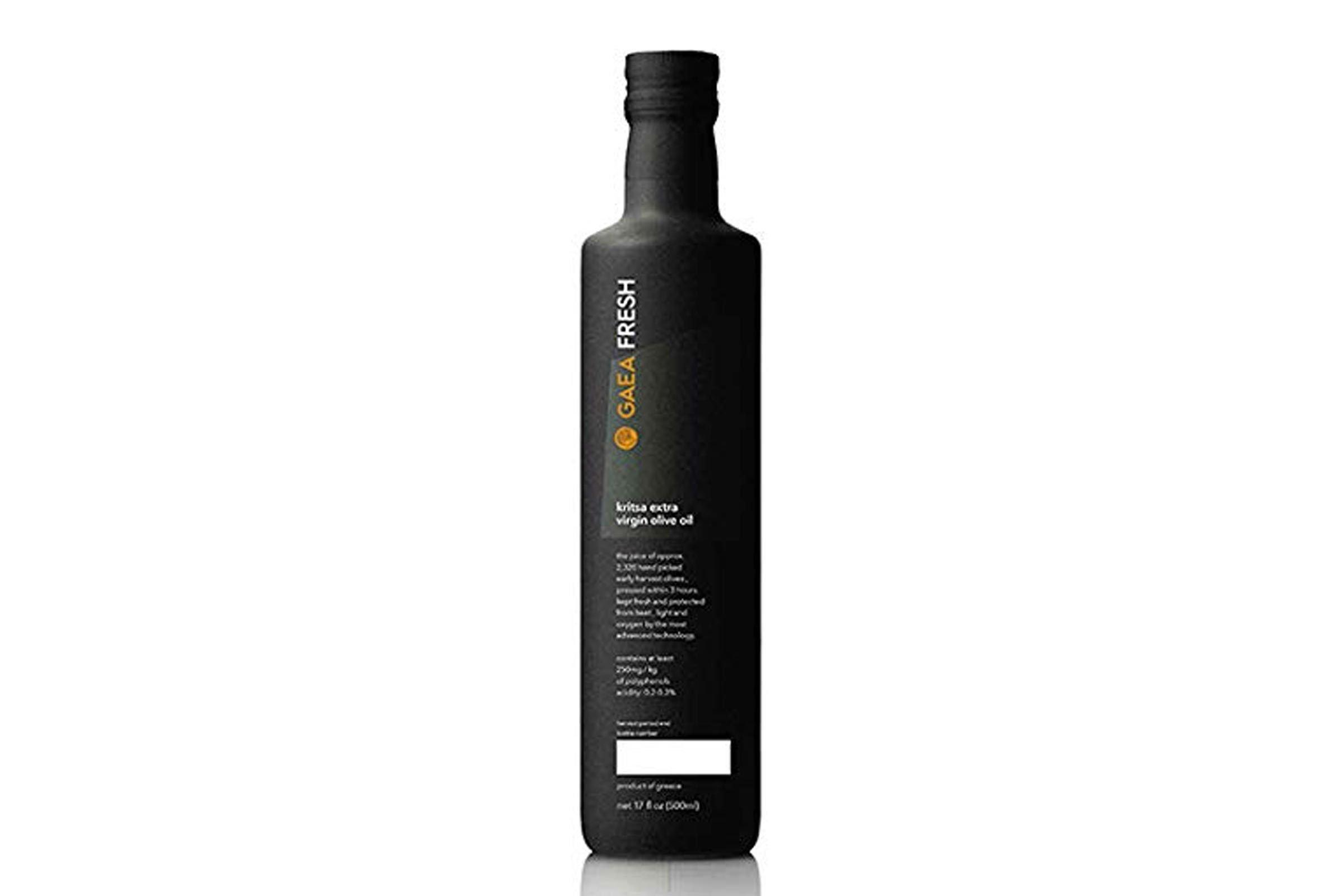 Gaea Fresh Greek Extra Virgin Olive Oil Single Origin EVOO 17 oz. Bottle