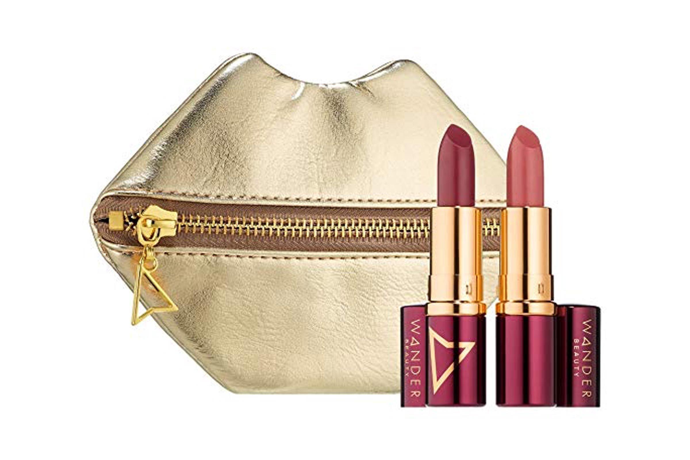 WANDER BEAUTY Kiss & Tell: Wanderout Lipstick in Girl Boss, Miss Behave