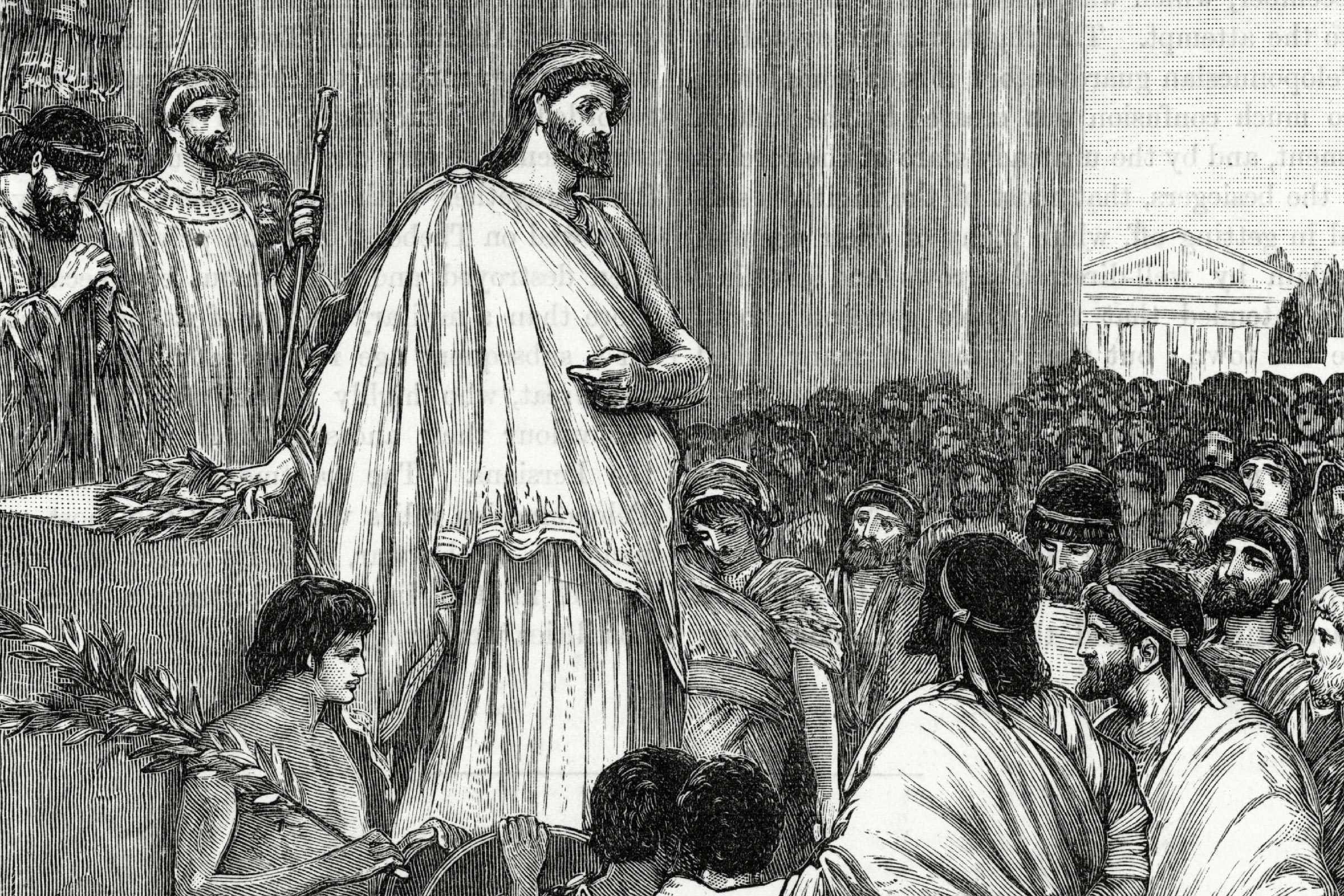 Pericles Delivers A Funeral Oration Over the Bodies of Soldiers Who Have Given Their Lives For Athens 430 BCE