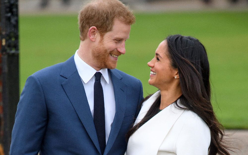 Prince Harry and Meghan Markle engagement announcement, Kensington Palace, London, UK - 27 Nov 2017
