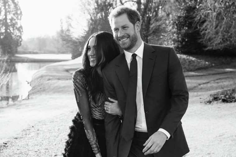 Prince Harry and Meghan Markle official engagement portraits, Windsor, United Kingdom - 21 Dec 2017