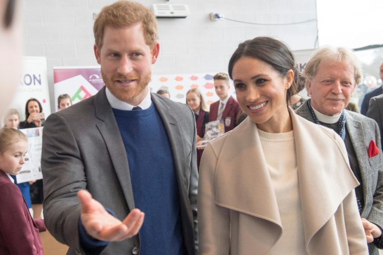 Prince Harry and Meghan Markle visit the Eikon Centre