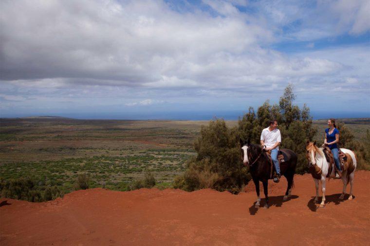 horseback ride lanai